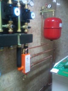 Отопление дома газовым котлом