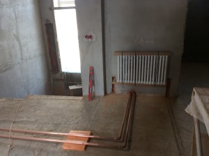 Проектирование отопления коттеджа