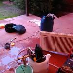 Промывка отопления дома