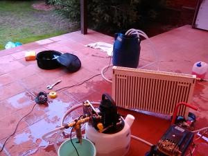 Промывка отопления коттеджа
