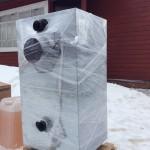 Установка теплообменника для отопления дома